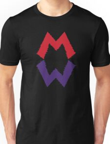 Mario and his Darkside Unisex T-Shirt