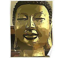 smiling buddha.. Poster