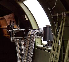 50 cal Waist Gun on a B-17 by bleriger