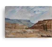 Free State Landscape Canvas Print