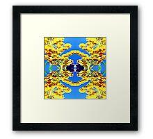 341-Bumble Framed Print