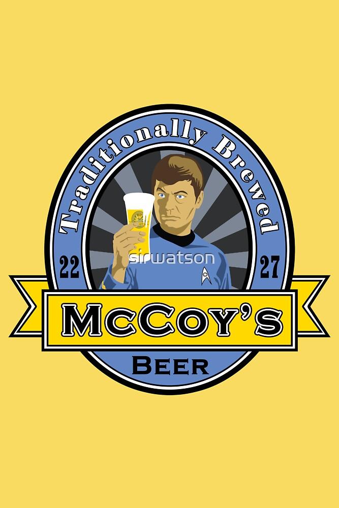 McCoy's Beer by sirwatson