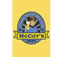 McCoy's Beer Photographic Print