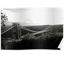 Bristol Suspension bridge Poster