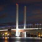 Bridge Overy Murky Waters by Puggs