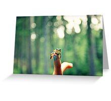 Frog Prince Greeting Card