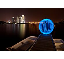Lonely Light Orb Photographic Print