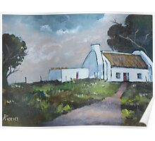 Westcoast Farmhouse Poster