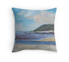 Landscape in Eastern Cape Throw Pillow