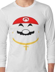 Super Gangster Mario Long Sleeve T-Shirt