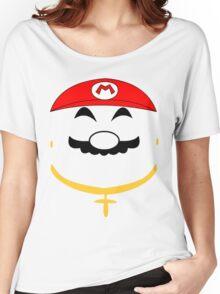 Super Gangster Mario Women's Relaxed Fit T-Shirt