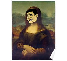 Monalisa Troll Face - (Designs4You) Poster