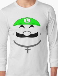 Super Gangster Mario - Luigi Long Sleeve T-Shirt