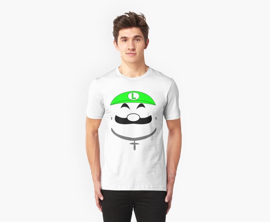 Super Gangster Mario - Luigi by McLovely