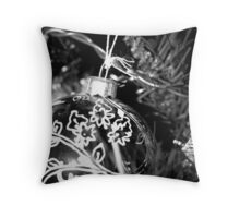 Christmas Bauble Throw Pillow