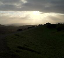 A walk in the wind (Great Malverns) by lisette