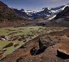 The Black Glacier by Peter Hammer