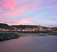 Another Day Dawns Over Staithes by laidbackdave