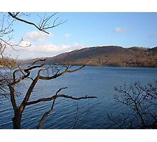 view across the lake Photographic Print