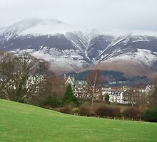 snow on the hills by vincegreen
