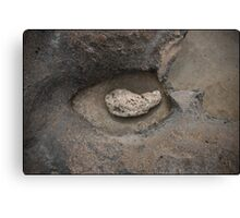 Rock & Stone Canvas Print