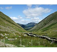 lake district valley view Photographic Print