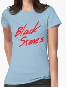 Black Stones (BLAST) Womens Fitted T-Shirt