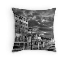 Gloucester Docks Throw Pillow