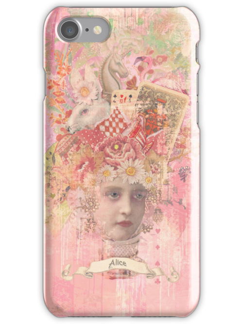 Alice - iPhone Case by AngiandSilas