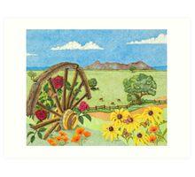 Wagons West Art Print