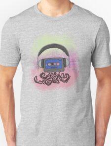 Headphone Cassette T-Shirt