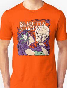 Slightly Stoopid Women Kissing Skleton Unisex T-Shirt