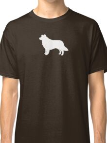Border Collie Silhouette(s) Classic T-Shirt