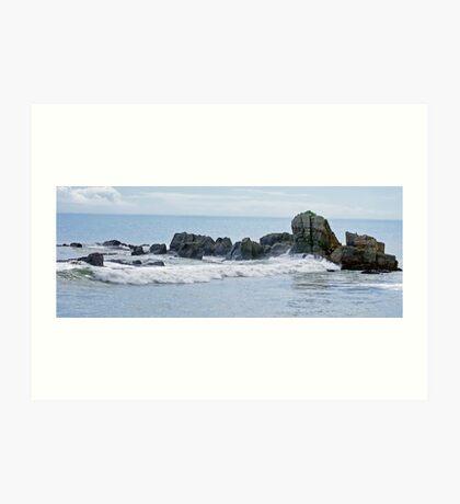 Rocks & Sea I Art Print