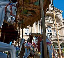 Carousel in Avingon by Dan Lauf