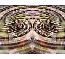 Mirrored Digital Abstract Photographic Print