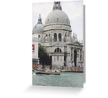 """Basilica """"S.Maria della Salute"""" città di VENEZIA - ITALY - EUROPA - VETRINA RB EXPLORE 6 DICEMBRE 2011 - - Greeting Card"""