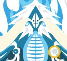 Blue Yeti Demon Sticker