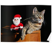 Hanging With Santa Poster