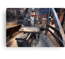 Woolshed Office Canvas Print