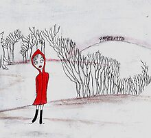 Red in the landscape by Tessa Chudy