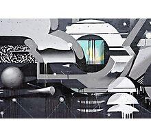 Geometrical Graffiti Photographic Print