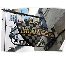 Chequers Pub Poster