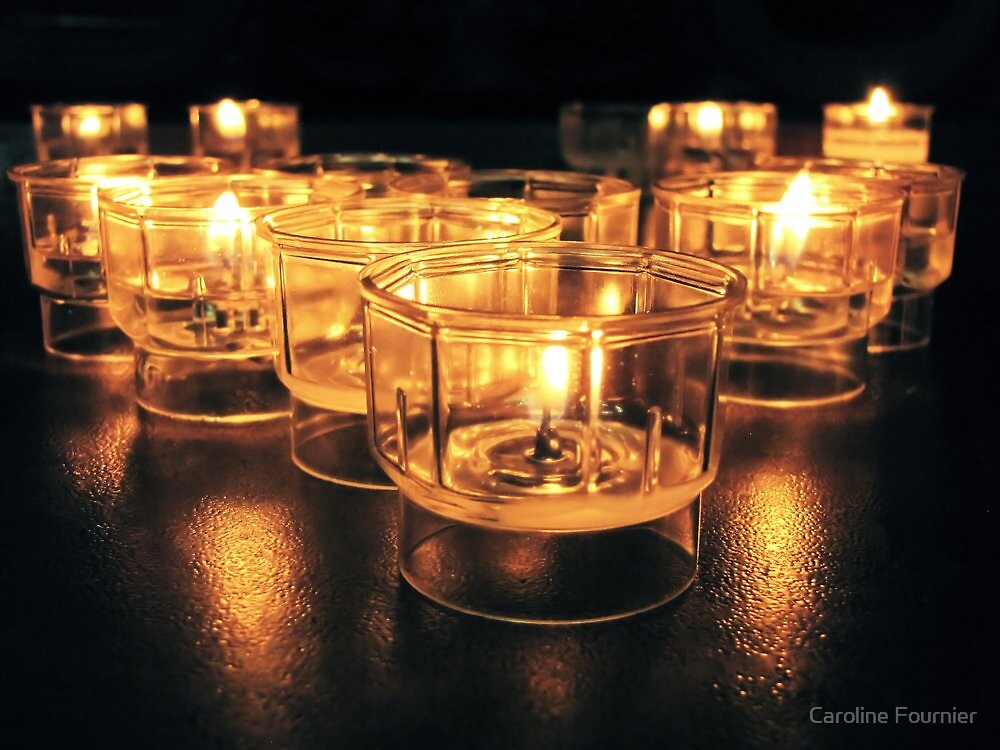 Light a Candle II by Caroline Fournier