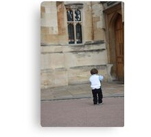 Child at Play Canvas Print