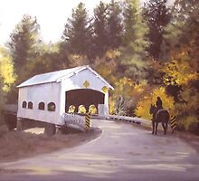 Rochester Covered Bridge by Karen Ilari
