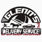 Glenn's Delivery Service - Black by Ryleh-Mason