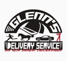 Glenn's Delivery Service - Black by Tracey Gurney