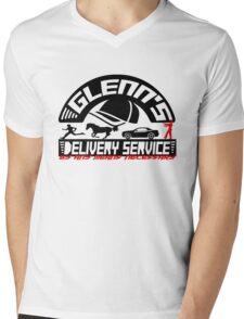 Glenn's Delivery Service - Black Mens V-Neck T-Shirt