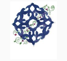 ethnic ornament blue Baby Tee
